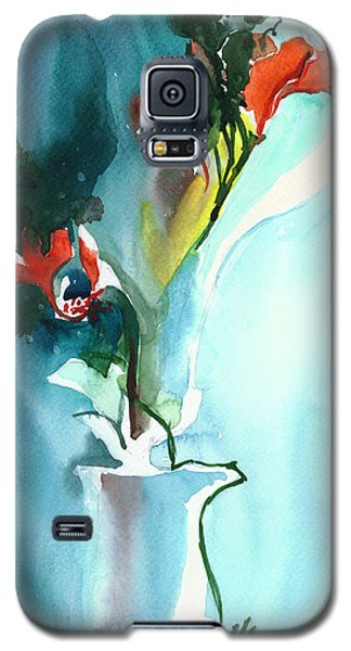 Flowers In Vase Galaxy S5 Case