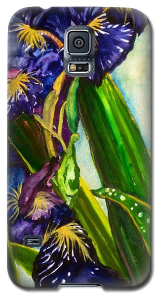 Flowers In Your Hair II Galaxy S5 Case by Lil Taylor