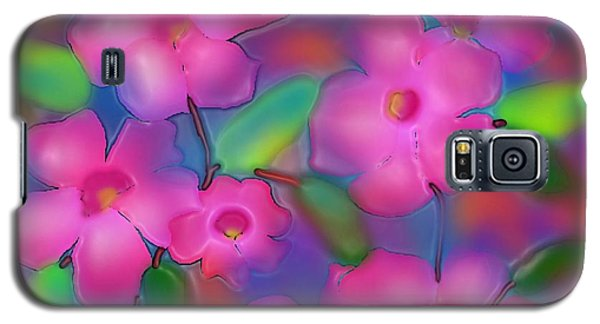 Galaxy S5 Case featuring the digital art Flowers Of October by Latha Gokuldas Panicker