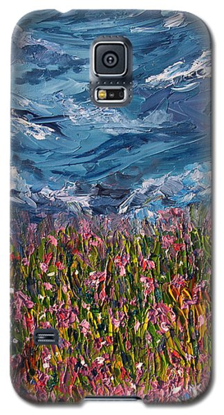 Galaxy S5 Case featuring the painting Flowers Of The Field by Meaghan Troup