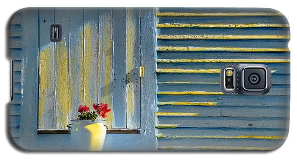Flowers On The Porch Galaxy S5 Case