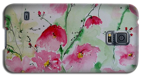 Flowers - Watercolor Painting Galaxy S5 Case