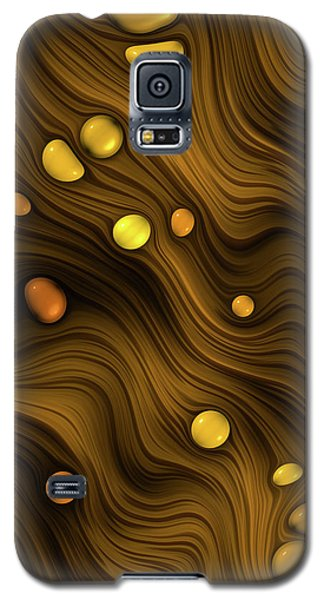 Flowing Amber Galaxy S5 Case