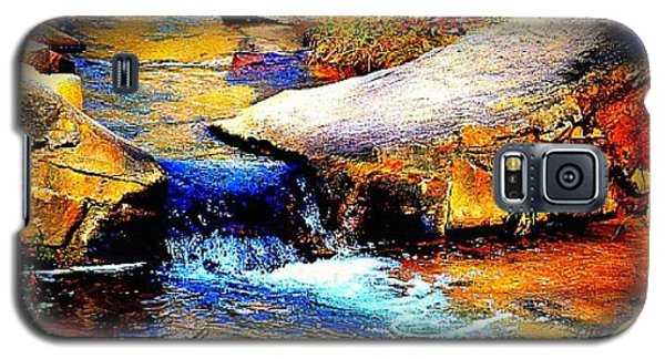 Galaxy S5 Case featuring the photograph Flowing Creek by Tara Potts