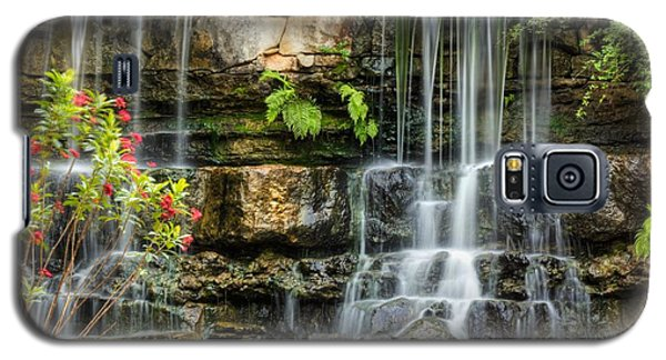 Galaxy S5 Case featuring the photograph Flowing Falls by Dave Files