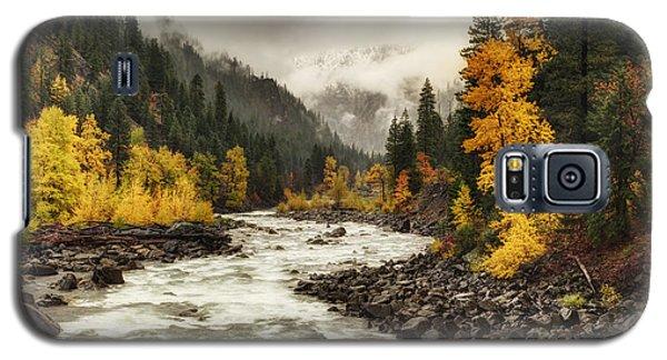 Flowing Through Autumn Galaxy S5 Case