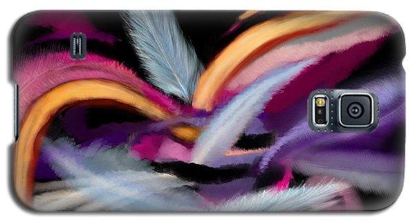 Fluff Galaxy S5 Case by Christine Fournier