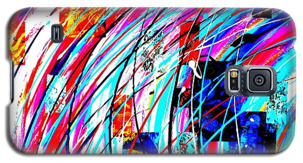 Fluid Motion Pop Art Galaxy S5 Case