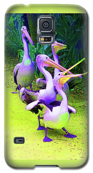 Fluorescent Pelicans Galaxy S5 Case