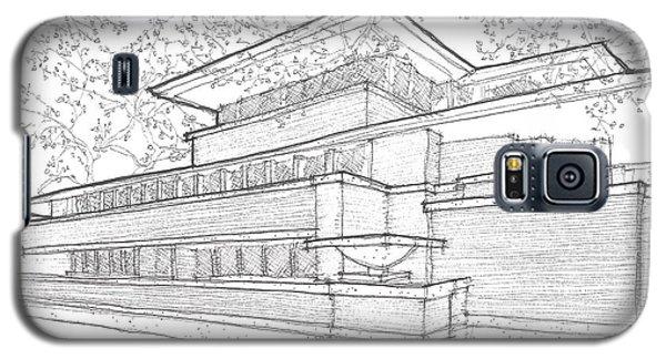 Flw Robie House Galaxy S5 Case