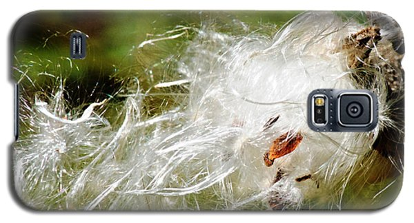 Fly Away Milkweed Galaxy S5 Case by JRP Photography