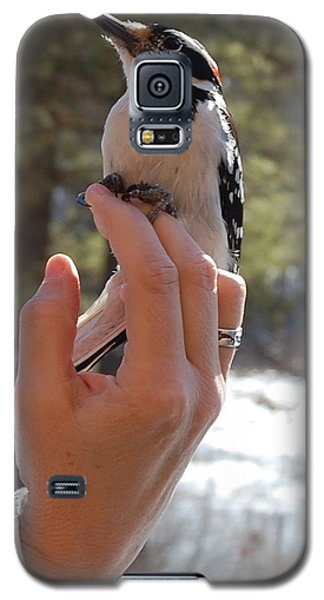 Galaxy S5 Case featuring the photograph Fly Away by Mim White