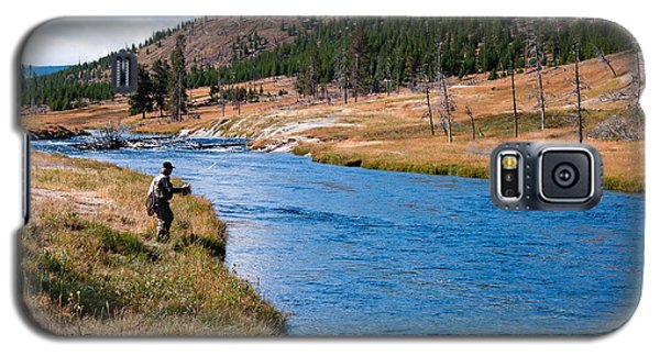 Fly Fishing In Yellowstone  Galaxy S5 Case