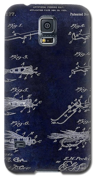 1922 Fly Fishing Lure Blue Galaxy S5 Case