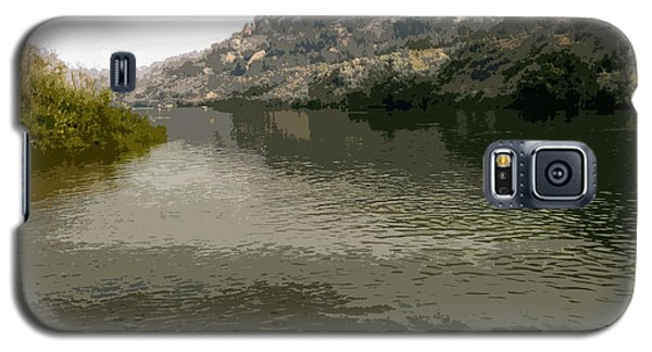 Fly Fishing On The San Juan Galaxy S5 Case by Max Mullins