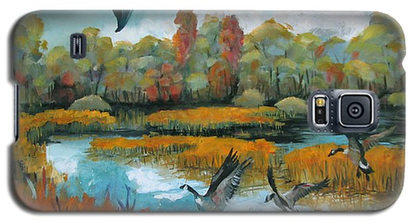 Flying Geese Feet Galaxy S5 Case
