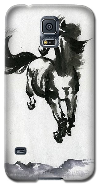 Galaxy S5 Case featuring the painting Flying Horse by Ping Yan