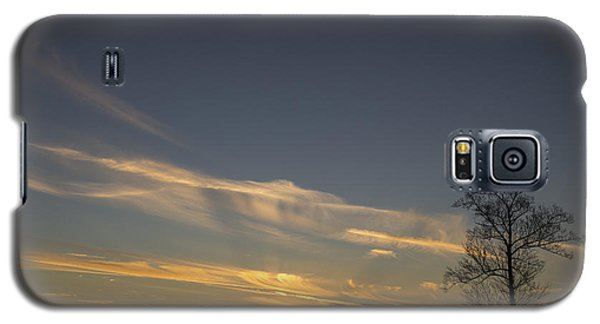 Flying Into The Yellow Sunset Galaxy S5 Case