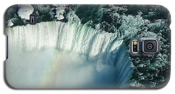 Flying Over Icy Niagara Falls Galaxy S5 Case