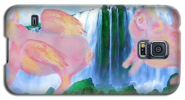 Flying Pigs Galaxy S5 Case