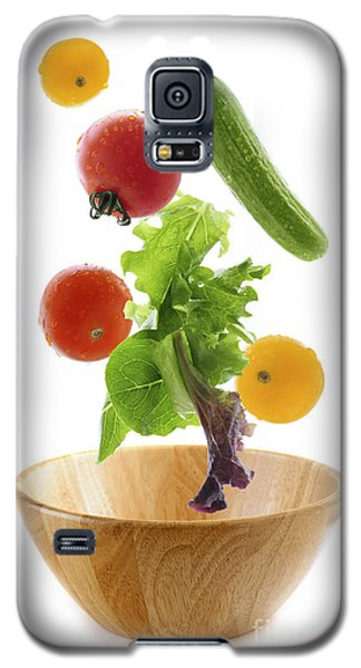 Flying Salad Galaxy S5 Case by Elena Elisseeva