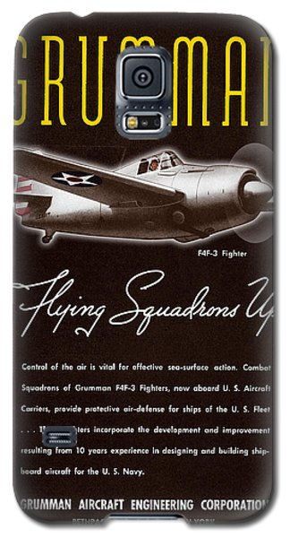 Grumman Flying Squadrons Up Galaxy S5 Case