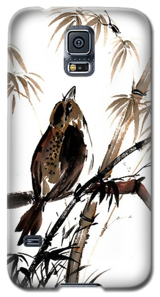 Galaxy S5 Case featuring the painting Focus by Bill Searle