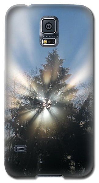 Fog And Light Rays Galaxy S5 Case