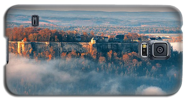 Fog Around The Fortress Koenigstein Galaxy S5 Case