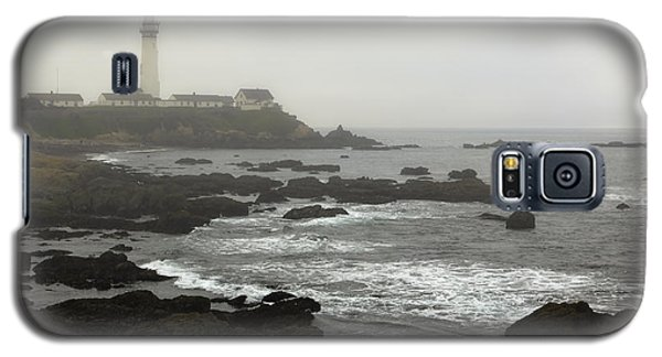 Fog At Pigeon Point Light Galaxy S5 Case