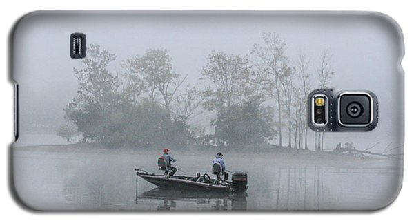 Galaxy S5 Case featuring the photograph Fog Fishing by Geraldine DeBoer
