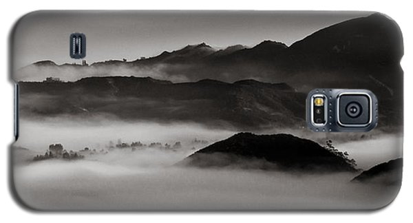 Fog In The Malibu Hills Galaxy S5 Case