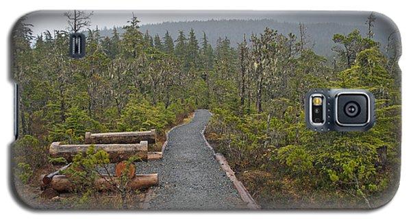 Fog On The Trail Galaxy S5 Case by Cathy Mahnke