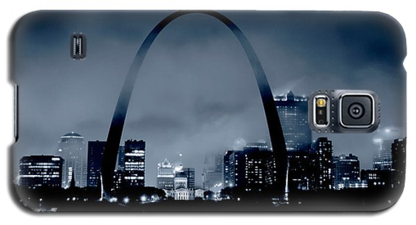 Fog Over St Louis Monochrome Galaxy S5 Case