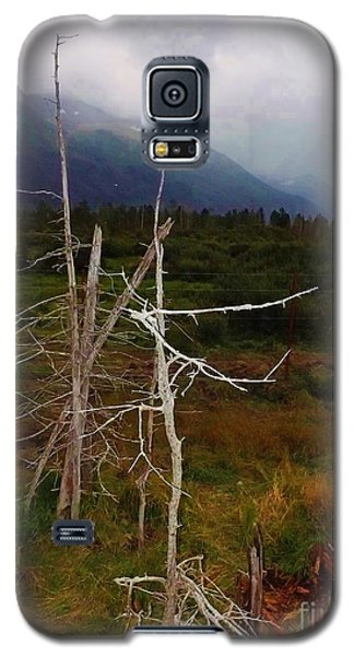 Fog Rolling In Over Mountains Galaxy S5 Case by Brigitte Emme