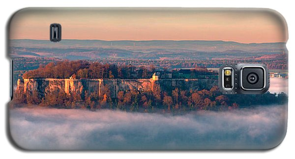 Fog Surrounding The Fortress Koenigstein Galaxy S5 Case