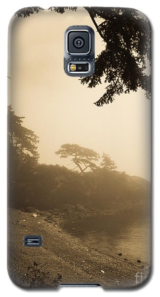Foggy Beach Galaxy S5 Case