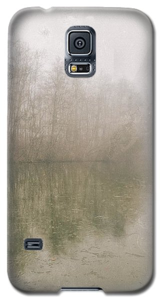 Galaxy S5 Case featuring the photograph Foggy Day On The Border Of The Lake by Maciej Markiewicz
