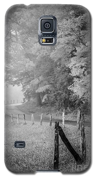 Foggy Loop Road Galaxy S5 Case