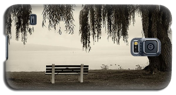 Foggy Morning At Stewart Park Galaxy S5 Case