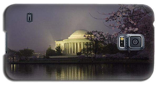 Foggy Morning At The Jefferson Memorial 1 Galaxy S5 Case