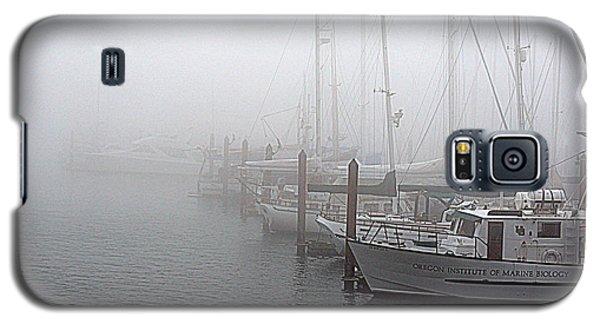 Foggy Morning In Charleston Harbor Galaxy S5 Case by AJ  Schibig