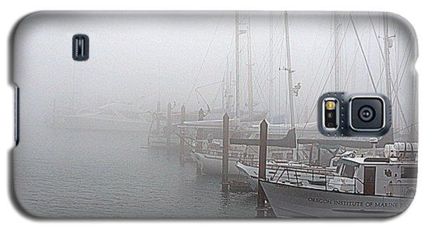 Foggy Morning In Charleston Harbor Galaxy S5 Case