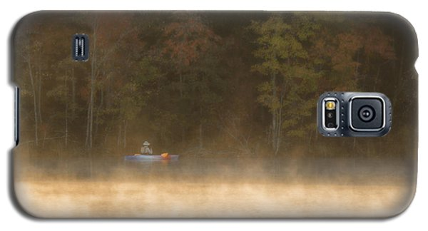 Foggy Morning Kayaking Galaxy S5 Case