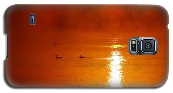 Foggy Morning On The River Galaxy S5 Case