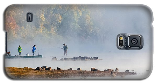 Foggy Morning St Croix River Stillwater Mn Galaxy S5 Case by RC Pics