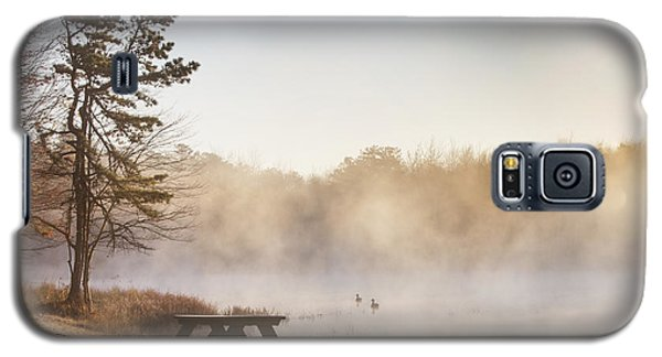 Galaxy S5 Case featuring the photograph Foggy Morning by Yelena Rozov
