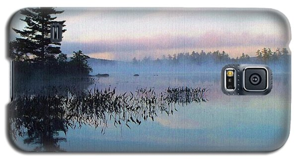 Foggy Morning's Chill -- On Parker Pond Galaxy S5 Case