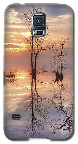 Foggy River Evening Galaxy S5 Case