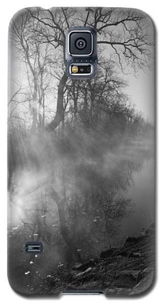 Foggy River Morning Sunrise Galaxy S5 Case by Jennifer White